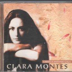 CDs de Música: CLARA MONTES CANTA A ANTONIO GALA / CD DE 1998 RF-3103 . Lote 178194957