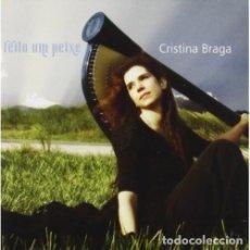 CDs de Música: CRISTINA BRAGA - FEITO UM PEIXE - NUEVO Y PRECINTADO. Lote 228570955