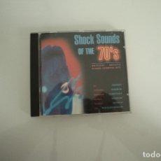 CDs de Música: SHOCK SOUNDS OF THE 70. Lote 178254105