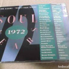 CDs de Música: SOUL YEARS 1972 (CD) THE O'JAYS, JOE TEX, ARETHA FRANKLIN, MILLIE JACKSON, JOE SIMON… AÑO – 1990 – D. Lote 178263493