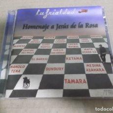 CDs de Música: HOMENAJE A JESUS DE LA ROSA (TU FRIALDAD) (TRIANA) (CD) MEDINA AZAHARA, BUMBURY, EL BARRIO, HEVIA, K. Lote 178289417