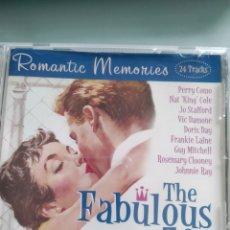 CDs de Música: THE FABULOUS 50'S - ROMANTIC MEMORIES. Lote 178289752