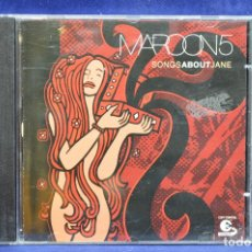 CDs de Música: MAROON 5 - SONGS ABOUT JANE - CD. Lote 178292332