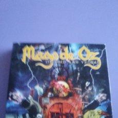 CDs de Música: JOYA. MAGO DE OZ - MADRID LAS VENTAS - 2 CD + 1 DVD - LOCOMOTIVE 2005 - DIGIPACK SE ABRE 4 PARTES.. Lote 178301118