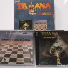 CDs de Música: TRIANA CAJA BÁSICO-3 CD´S-UNA HISTORIA Y HOMENAJE A JESÚS DE LA ROSA-MUY RARA. Lote 178304083