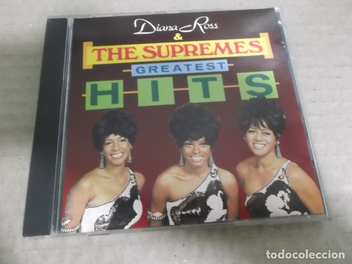 DIANA ROSS & THE SUPREMES (CD) GREATEST HITS AÑO – 1988 (Música - CD's Jazz, Blues, Soul y Gospel)
