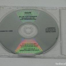 CDs de Música: CD MAXI - BLUE SAVANNAH - ERASURE - MAXI - PROMO - CDMUTE 109R. Lote 178332497