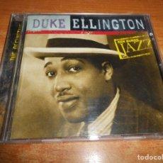 CDs de Música: DUKE ELLINGTON KEN BURNS JAZZ THE DEFINITIVE CD ALBUM DEL AÑO 2000 EU CONTIENE 21 TEMAS MUY RARO. Lote 178339415