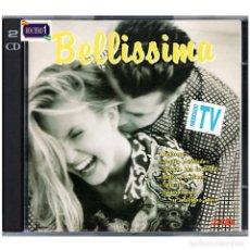 CDs de Música: MÚSICA. DOBLE CD. BELLISSIMA 1 (UNO) - 2 CDS. USADO. Lote 178347303