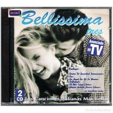 CDs de Música: MÚSICA. DOBLE CD. BELLISSIMA 2 (DOS) - 2 CDS. USADO. Lote 178347376