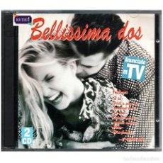 CDs de Música: MÚSICA. DOBLE CD. BELLISSIMA 3 (TRES) - 2 CDS. USADO. Lote 178347525
