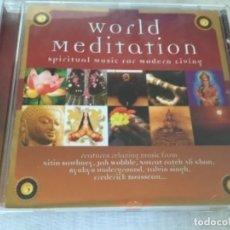 CDs de Música: CD WORLD MEDITATION . Lote 178347555