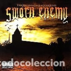 CDs de Música: SWORN ENEMY - THE BEGINNING OF THE END. Lote 178349845