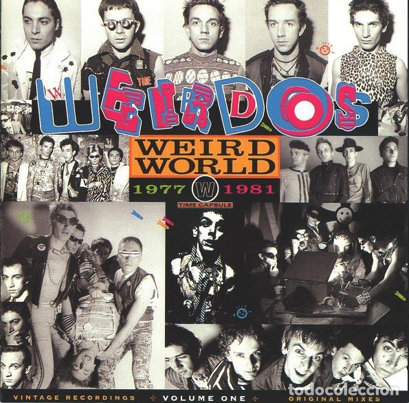 CDs de Música: THE WEIRDOS - WEIRD WORLD - VOLUME ONE 1977-1981 - Foto 1 - 178350698