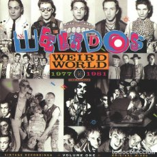 CDs de Música: THE WEIRDOS - WEIRD WORLD - VOLUME ONE 1977-1981. Lote 178350698