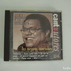CDs de Música: PABLO MILANES LAS MEJORES CANCIONES. Lote 178351848