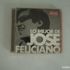 CDs de Música: LO MEJOR DE JOSE FELICIANO TODOS SUS EXITOS EN CASTELLANO 2 CD. Lote 178354391