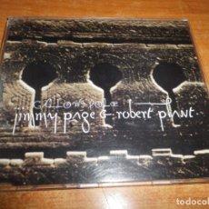 CDs de Música: JIMMY PAGE & ROBERT PLANT GALLOWS POLE CD SINGLE PROMO 1994 UK LED ZEPPELIN 1 TEMA. Lote 178360091