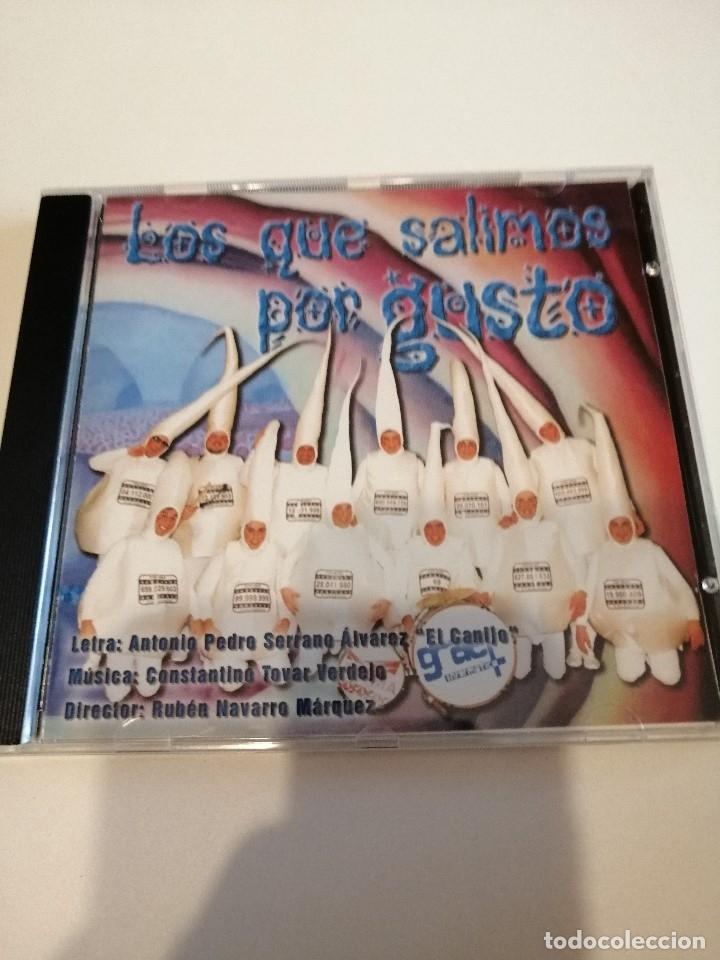 G-25ANIM CD MUSICA CARNAVAL DE CADIZ CHIRIGOTA LOS QUE SALIMOS POR GUSTO (Música - CD's Otros Estilos)