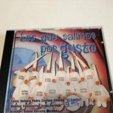 CDs de Música: G-25ANIM CD MUSICA CARNAVAL DE CADIZ CHIRIGOTA LOS QUE SALIMOS POR GUSTO . Lote 178377746
