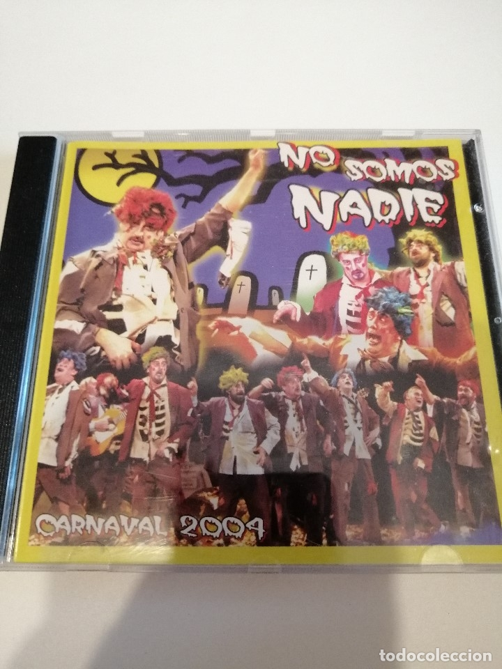 G-25ANIM CD MUSICA CARNAVAL DE CADIZ CHIRIGOTA NO SOMOS NADIE (Música - CD's Otros Estilos)