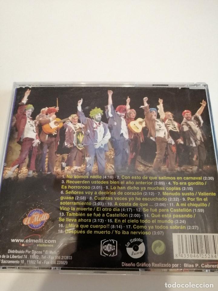 CDs de Música: G-25ANIM CD MUSICA CARNAVAL DE CADIZ CHIRIGOTA NO SOMOS NADIE - Foto 2 - 178378045