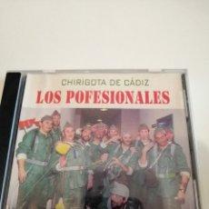 CDs de Música: G-25ANIM CD MUSICA CARNAVAL DE CADIZ CHIRIGOTA LOS POFESIONALES . Lote 178378092