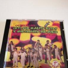 CDs de Música: G-25ANIM CD MUSICA CARNAVAL DE CADIZ CHIRIGOTA AY QUE MALITO ESTOY Y QUE POQUITO ME QUEJO. Lote 178378507