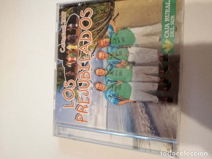 G-25ANIM CD MUSICA CARNAVAL DE CADIZ CHIRIGOTA LOS PREJUBILADOS (Música - CD's Otros Estilos)