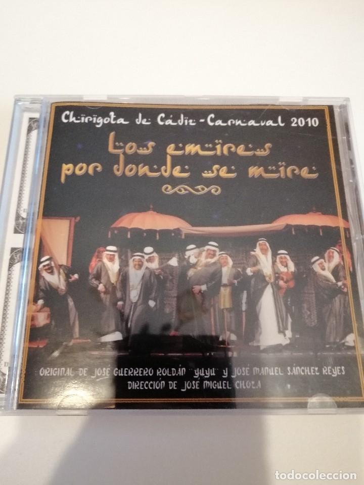 G-25ANIM CD MUSICA CARNAVAL DE CADIZ CHIRIGOTA LOS EMIRES POR DONDE SE MIRE (Música - CD's Otros Estilos)