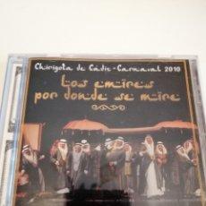 CDs de Música: G-25ANIM CD MUSICA CARNAVAL DE CADIZ CHIRIGOTA LOS EMIRES POR DONDE SE MIRE . Lote 178378633