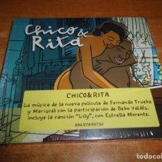 CDs de Música: CHICO & RITA BANDA SONORA CD DIGIPACK PRECINTADO BEBO VALDES ESTRELLA MORENTE IDIANA VALDES. Lote 178382290