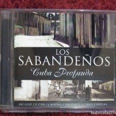 CDs de Música: LOS SABANDEÑOS (CUBA PROFUNDA) CD + DVD 2005. Lote 178382310