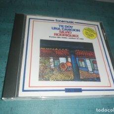CDs de Música: SILVIO RODRIGUEZ , TE DOY UNA CANCION . Lote 178384160