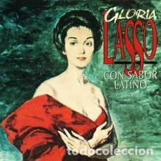 CDs de Música: GLORIA LASSO – CON SABOR LATINO (ORFEON, ORF 1092 2 CD, ALBUM 1994) COMO NUEVO!. Lote 178394403