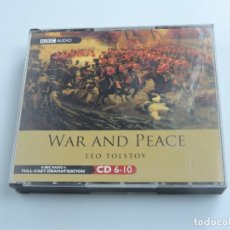 CDs de Música: WAR AND PEACE LEO TOLSTOY 4XCD. Lote 178446588