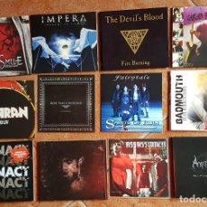 CDs de Música: SWEDEN ROCK LOTE # 1 DE 12 CD'S PROMOCIONALES HEAVY DEATH THRASH EPIC DARK METAL. Lote 178448108