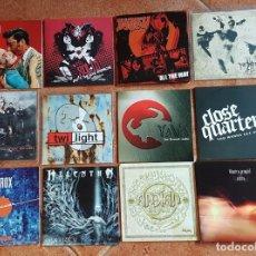 CDs de Música: SWEDEN ROCK LOTE # 2 DE 12 CD'S PROMOCIONALES HEAVY DEATH THRASH EPIC DARK METAL. Lote 178448485