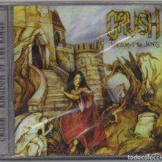 CDs de Música: CRUSH CD NUEVO KINGDOM OF THE KINGS ROCK POWER METAL. Lote 178556903