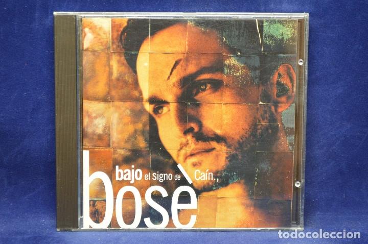 MIGUEL BOSÉ - BAJO EL SIGNO DE CAÍN - CD (Música - CD's Pop)