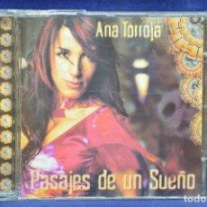 CDs de Música: ANA TORROJA - PASAJES DE UN SUEÑO - CD. Lote 178560161