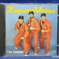CDs de Música: ZAPATO VELOZ - PA TOKISKI - CD. Lote 178560453