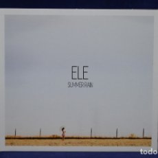CDs de Música: ELE - SUMMER RAIN - CD. Lote 178561031