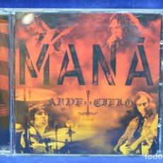 CDs de Música: MANÁ - ARDE EL CIELO - CD. Lote 178561197