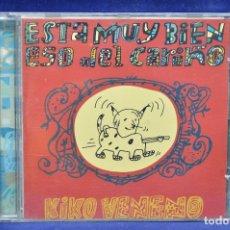 CDs de Música: KIKO VENENO - ESTÁ MUY BIEN ESO DEL CARIÑO - CD. Lote 178561443