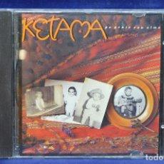 CDs de Música: KETAMA - PA GENTE CON ALMA - CD. Lote 178561862