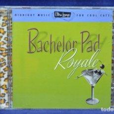 CDs de Música: VARIOUS - BACHELOR PAD ROYALE - CD. Lote 178562862