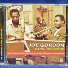 CDs de Música: JOE GORDON - EARLY SESSIONS - CD. Lote 178564675