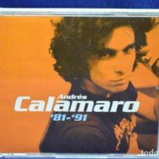 CDs de Música: ANDRÉS CALAMARO - ´81/´91 - 2 CD. Lote 178565111