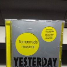 CDs de Música: CD YESTERDAY : TEMPORADA MUSICAL ( DUO DINAMICO PERCY FAITH BLUE CHER MIGUEL RIOS LEONARDO FAVIO ETC. Lote 178567132